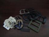 Antique/Vintage Scarf, Belt Buckles