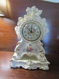 Vintage Johnson China Decorative Clock, No Chips
