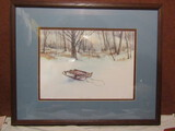 Owen Wexler Signed Lithograph, Pencil, Numbered
