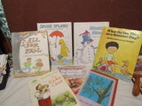 Lot of 7 Vintage Kids Books, 1960s and 1970s, 1 Signed Coville, In Good Condition