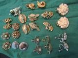 Coro, Trifari, Berque, Other Clip and Screwback Earrings