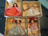 Nancy Ann Storybook Dolls, Bisque, 29, 56, 87, 120