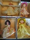 Nancy Ann Storybook Dolls, Bisque, 118, 152, 171, 172