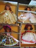 Nancy Ann Storybook Dolls, Bisque, 86, 163, 178, 185