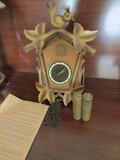 Vintage German Cuckoo Clock, Ward-Clockwerk