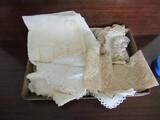 Antique/Vintage Doilies and Linen