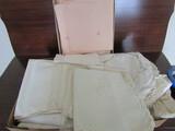 Vintage Linen, Pink Set by J.N. Adam Co.