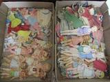 Huge Lot of Vintage Paper Dolls