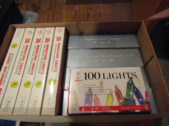 Vintage Christmas Bulbs and Lights