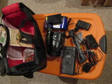 Sony Video 8 Handycam, Charger, Battery, Case, Complete