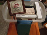 Vintage Picture Frames 1-Pewter and Organizer
