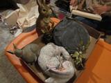 Vintage Rabbit Décor, Thos. Wilson Wall Hanging -Friendship