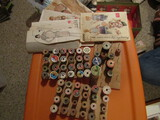 Antique/Vintage Sewing Lot, Thread, Patterns