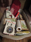 Mixed Lot of Household, Shelf Liner, Décor, New Items