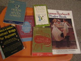 Lot of 6 Vintage Books, Norman Rockwell Poster Book