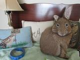 4 Decorative Throw Pillows
