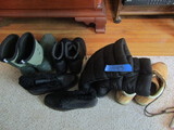 Lot of Winter Boots, Lug, Muck, Eddie Bauer, Toe Warmer, Canada