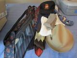 Vintage Men's Clothing, Hats, Shirts, Ties