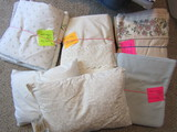 Vintage Full and Queen Sheet Sets