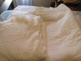 Vintage Chanille Blanket-Dry Cleaned and 2 White Bedspreads-Very Soft