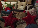 Vintage Fall/Holiday Throw Pillows