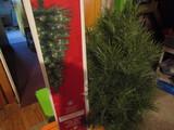 Vintage Artificial Christmas Trees, 3'-4', Nodic Pine