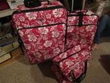 Vintage 3 Piece American Tourister Luggage Set