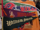 Vintage Pennants and Lanyards