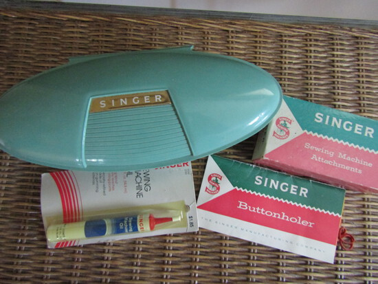 Vintage Singer Parts/Attachments, Original Boxes/Case