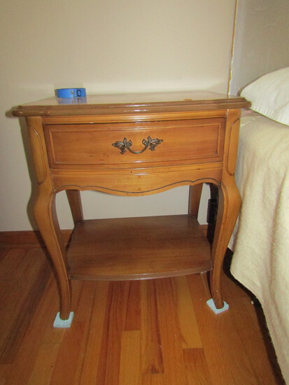 Dixie Nightstand, 1 Drawer, Matches Lots 23 and 24