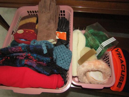 Scarfs, Ear Muffs, Gloves