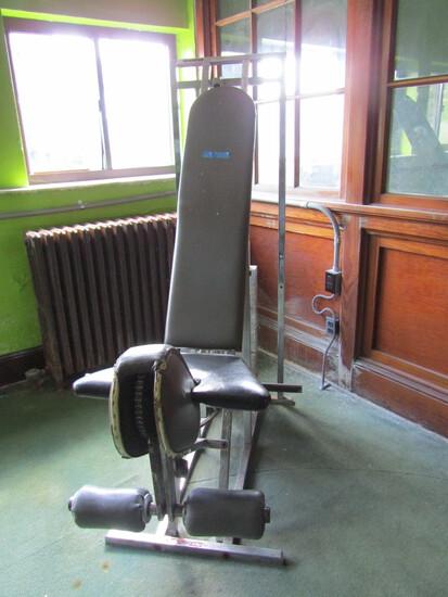Seated Leg Extension Exercise Machine