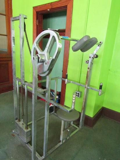 Seated Neck Press Exercise Machine