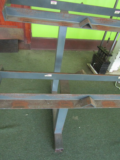 Two Tiered Dumbbell Rack