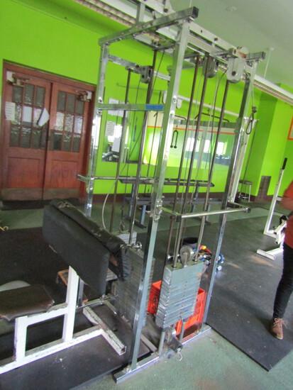 Multi Option Cable Exercise Machine