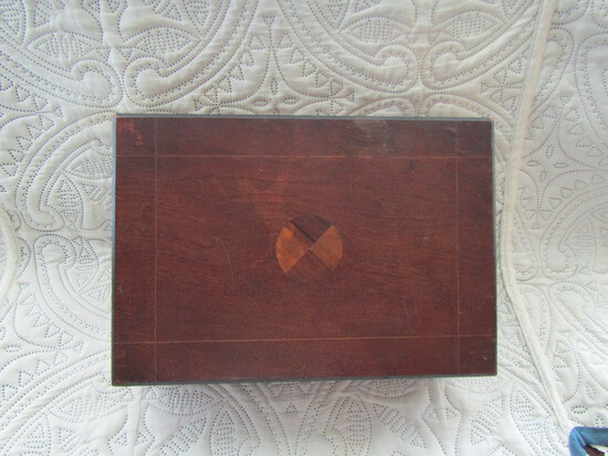 Antique Travel Writing Box