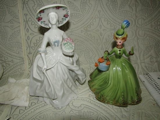Josef Original and Southern Heirlooms Figurines