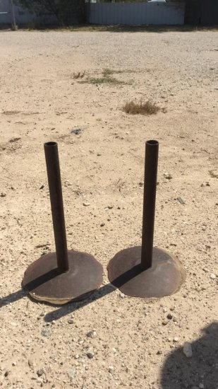 Set of pipe stands