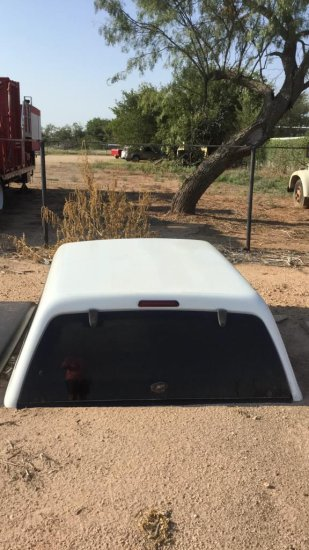 Camper Shell For Chevy 07 Classic And Back