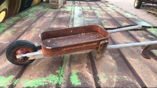 Home made Wheelbarrow