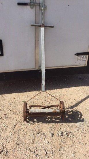 Antique push Reel Type Mower
