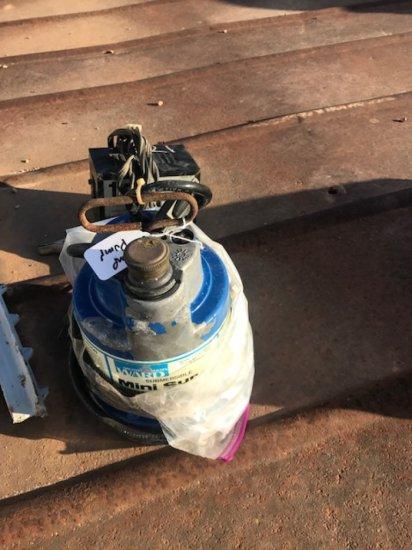 Ward Mini Sump Pump