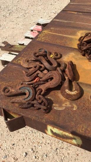 Lot of chain hooks