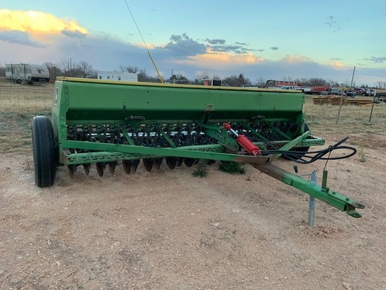 Jd 8300 Dual Disc Grain Drill
