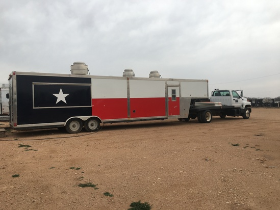 40' Event Catering trailer