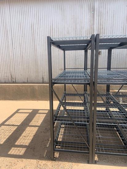 2x6x6 Gladiator Metal Shelf Unit