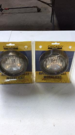 Pair of vehicle work lights
