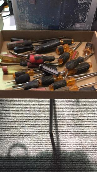 Box of screwdrivers