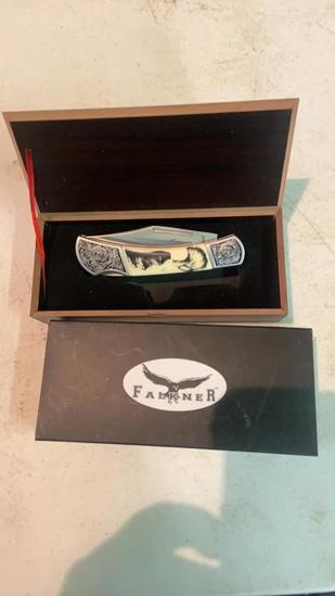 Falkner limited edition knife