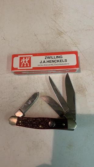 ZWILLING. J.A. HENCKELS 4-blade Knife